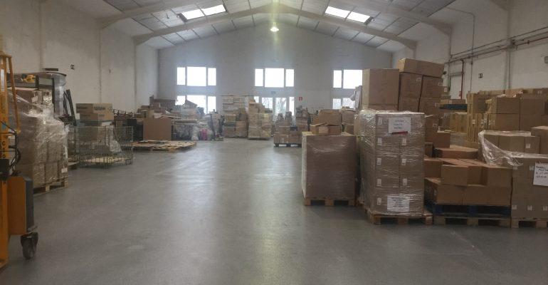 Nueva espacio de almacenaje COI Ademo