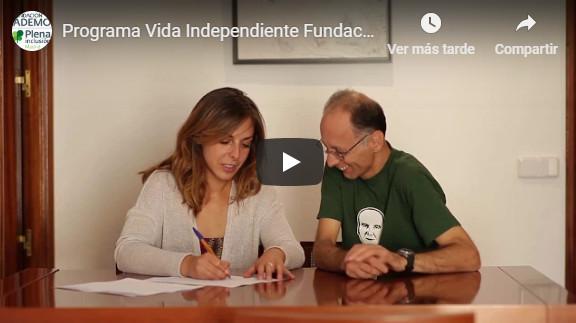 Video Programa Vida Independiente ADEMO