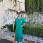 inserción jardinero