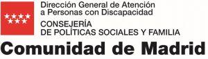 Logo CAM Dirección General Atención Personas con Discapacidad