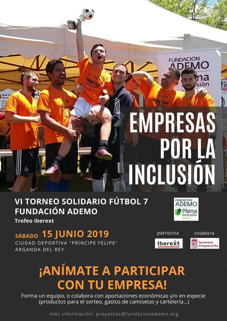 Torneo solidario 2019