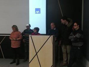 Los representantes explican sus propuestas