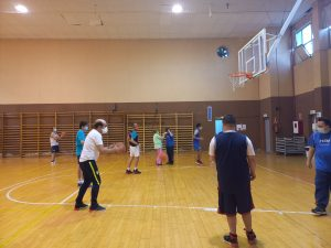 temporada de ocio. baloncesto