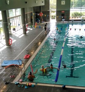 piscina. temporada de ocio